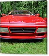 1993 Red Ferrari 512 Tr Canvas Print