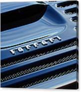 1997 Ferrari F 355 Spider Rear Emblem -153c Canvas Print