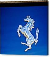 1997 Ferrari F 355 Spider Taillight Emblem -135c Canvas Print