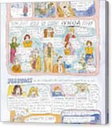 1998: A Look Back Canvas Print