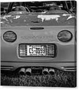 1999 Chevrolet Corvette Bw  Canvas Print