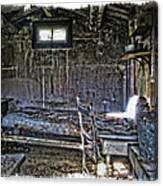 19th Century Miner's Cabin - Montana Canvas Print