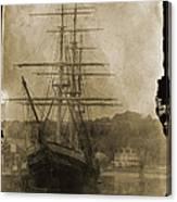 19th Century Schooner Canvas Print
