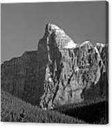 1m3621-bw-v-outlier Of Mt. Murchison Canvas Print
