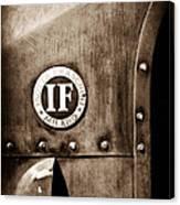 1913 Isotta Fraschini Tipo Im Emblem Canvas Print