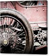 1913 Isotta Fraschini Tipo Im Wheel Canvas Print