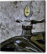 1926 Ford Model T Radiator Ornament Canvas Print