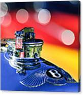 1931 Bentley 4.5 Liter Supercharged Le Mans Hood Emblem -1122c Canvas Print