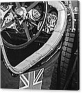 1931 Bentley 4.5 Liter Supercharged Le Mans Steering Wheel -1255bw Canvas Print