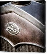1931 Ford Grille Emblem Canvas Print