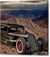 1931 Ford Hot Rod Sedan Canvas Print