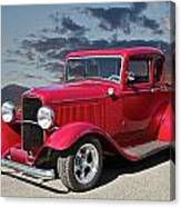 1932 Ford '5 Window' Coupe Canvas Print