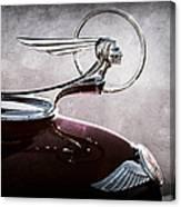 1933 Pontiac Hood Ornament Canvas Print