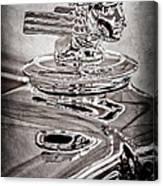 1933 Stutz Dv-32 Dual Cowl Phaeton Hood Ornament Canvas Print