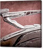 1936 Auburn Speedster Replica Hood Ornament Canvas Print