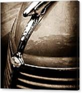 1938 Ford Hood Ornament Canvas Print