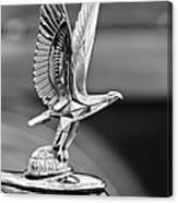 1940 Packard Custom Super-eight 180 Convertible Victoria Hood Ornament Canvas Print