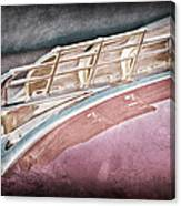 1949 Plymouth Hood Ornament Canvas Print
