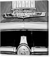 1950 Pontiac Grille Emblem Canvas Print