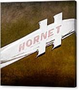 1951 Hudson Hornet Emblem Canvas Print