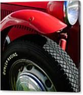 1952 Frazer-nash Le Mans Replica Mkii Competition Model Tire Emblem Canvas Print