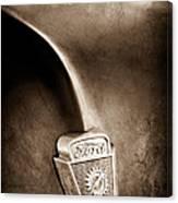 1953 Ford F100 Pickup Truck Hood Emblem Canvas Print