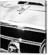 1953 Nash-healey Convertible Grille Emblem Canvas Print