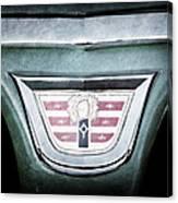 1956 Dodge Emblem Canvas Print