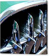 1957 Chevrolet Corvette Grille Canvas Print