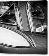 1957 Studebaker Golden Hawk Bw Canvas Print