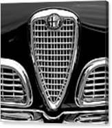 1959 Alfa Romeo Giulietta Sprint Grille Canvas Print