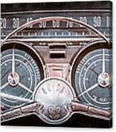 1959 Buick Lesabre Steering Wheel Canvas Print