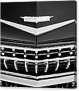 1959 Cadillac Eldorado Grille Emblem Canvas Print