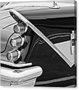 1959 Desoto Adventurer Convertible Tail Light Emblem Canvas Print
