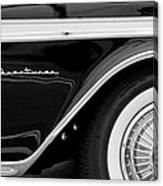 1959 Desoto Adventurer Convertible Wheel Canvas Print