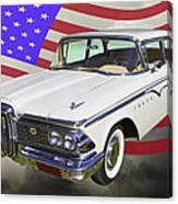 1959 Edsel Ford Ranger Canvas Print