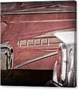 1960 Edsel Taillight Canvas Print