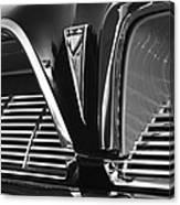 1961 Pontiac Catalina Grille Emblem Canvas Print