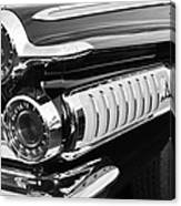 1962 Dodge Polara 500 Taillights Canvas Print