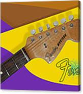 1966 Fender Mustang Canvas Print