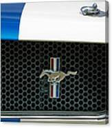 1966 Shelby Gt 350 Grille Emblem Canvas Print