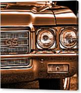 1971 Buick Gs Canvas Print