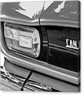 1971 Iso Grifo Can Am Taillight Emblem Canvas Print