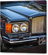 1990 Bentley Turbo R Canvas Print
