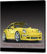 1997 Porsche  993 Twin Turbo Canvas Print
