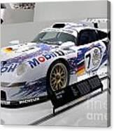1998 Porsche 911 Gt1 Canvas Print