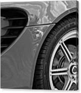 2005 Lotus Elise Wheel Emblem Canvas Print