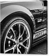 2007 Ford Mustang Shelby Gt Painted Bw   Canvas Print