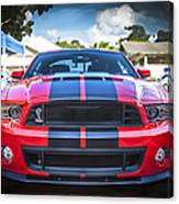 2013 Ford Shelby Mustang Gt500 Canvas Print