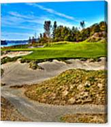 #3 At Chambers Bay Golf Course - Location Of The 2015 U.s. Open Championship Canvas Print